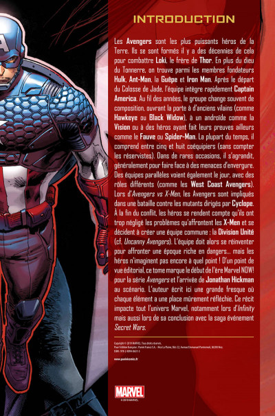 Page 3 Avengers (marvel deluxe) tome 1