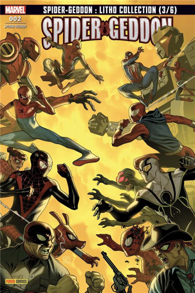 Couverture Spider-geddon (fresh start) tome 2