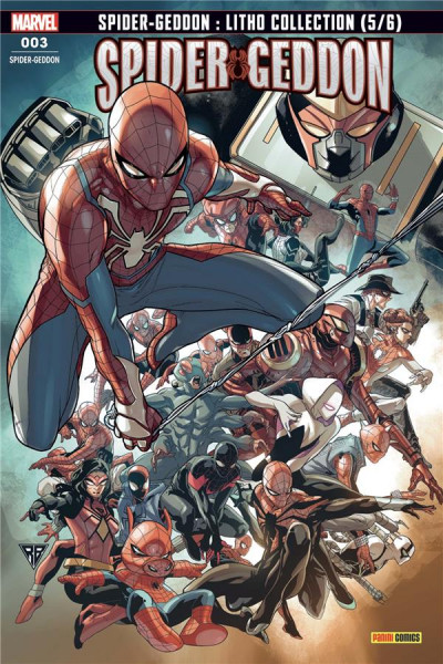 Couverture Spider-Geddon (fresh start) tome 3