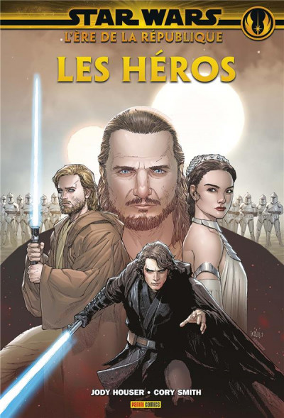Couverture Star wars l'ère de la République tome 1