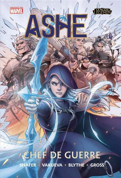 Couverture League of legends - Ashe tome 1