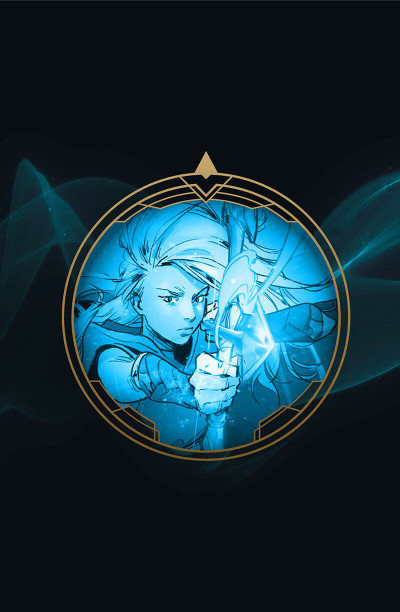 Page 1 League of legends - Ashe tome 1