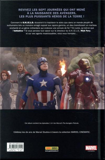 Dos Marvel cinématique tome 2 - Avengers