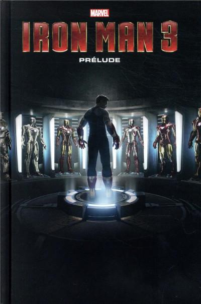 Couverture Marvel cinématique tome 3 - Iron Man
