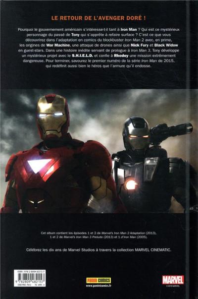 Dos Marvel cinématique tome 3 - Iron Man