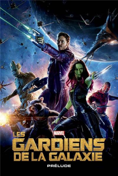 Couverture Marvel cinématique tome 4 - Les gardiens de la galaxie