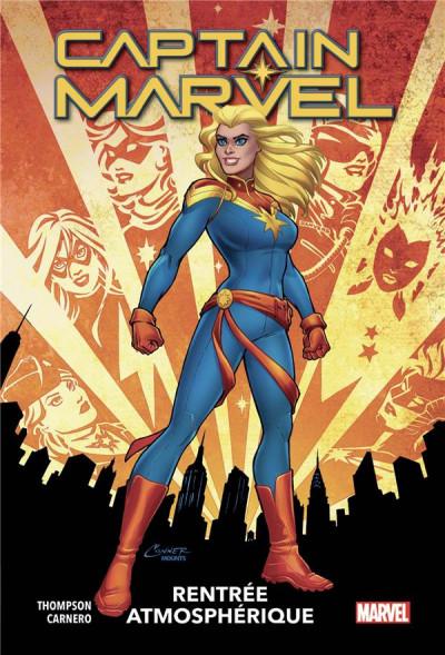 Couverture Captain Marvel tome 1