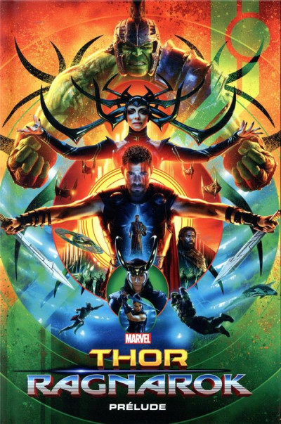 Couverture Marvel cinématique tome 8 - Thor Ragnarok