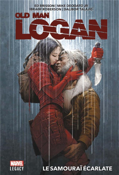 Couverture Marvel legacy - Old man logan
