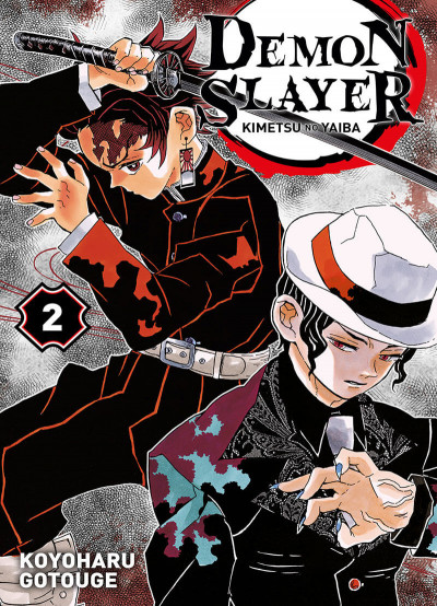 Couverture Demon slayer tome 2