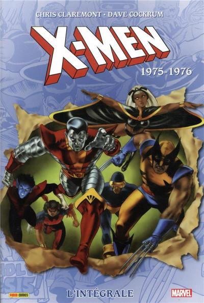 Couverture X-Men - intégrale tome 1 - 1975-1976