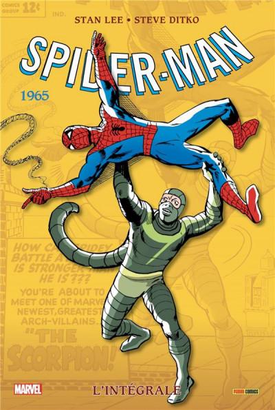 Couverture Spider-man - intégrale tome 3 - 1965