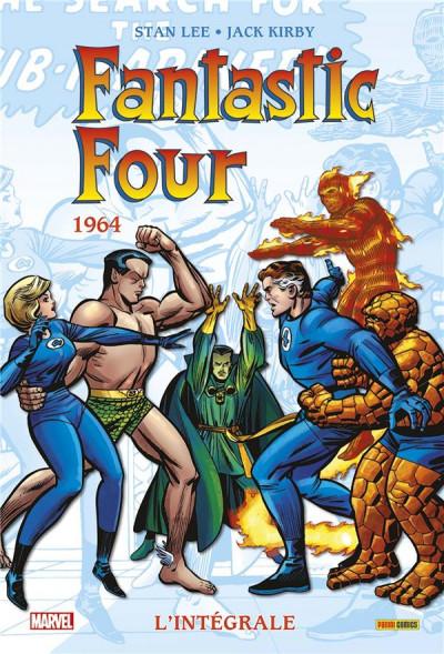 Couverture Fantastic four - intégrale tome 3 - 1964