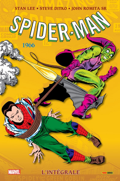 Couverture Spider-man - intégrale tome 4 - 1966