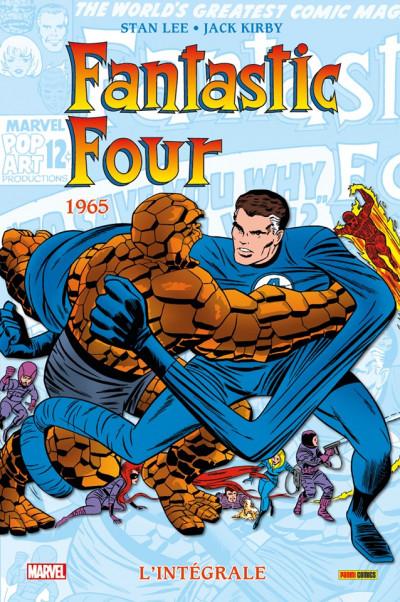 Couverture Fantastic four - intégrale tome 4 - 1965