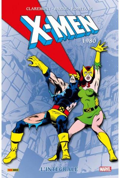 Couverture X-men - intégrale tome 4 - 1980