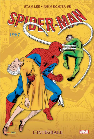 Couverture Spider-man - intégrale tome 5 - 1967