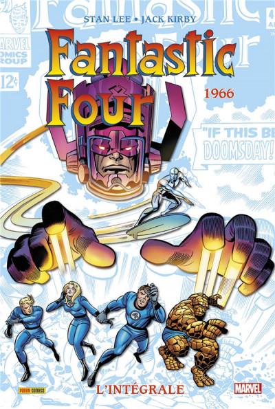 Couverture Fantastic four - intégrale tome 5 - 1966