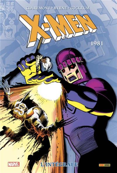 Couverture X-Men - intégrale tome 5 - 1981
