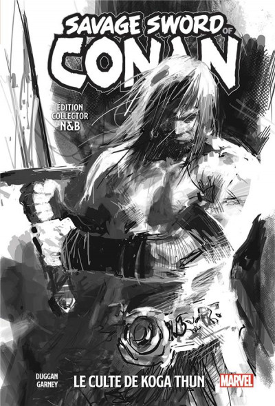 Couverture The savage sword of Conan tome 1 (édition n&b)