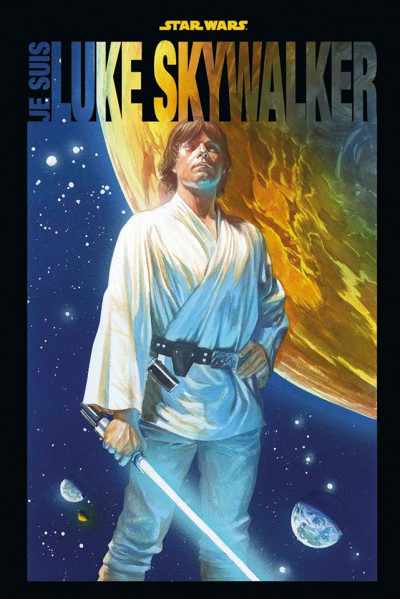 Couverture Je suis Luke Skywalker