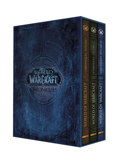 Couverture World of warcraft - chroniques - coffret (romans)