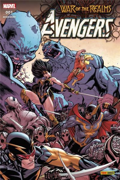Couverture Avengers (série 2020) tome 1