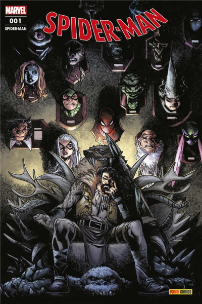 Couverture Spider-man (série 2020) tome 1