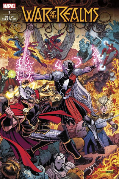 Couverture War of the realms tome 1
