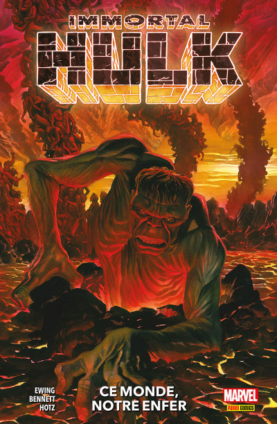Couverture Immortal Hulk tome 3