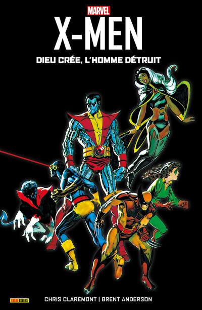 Couverture X-men - Dieu créé, l'homme détruit