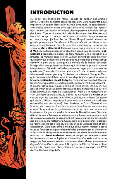 Page 4 X-men - Dieu créé, l'homme détruit