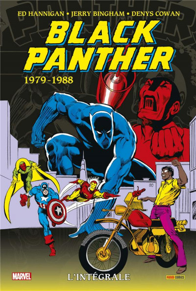 Couverture Black panther - intégrale tome 3