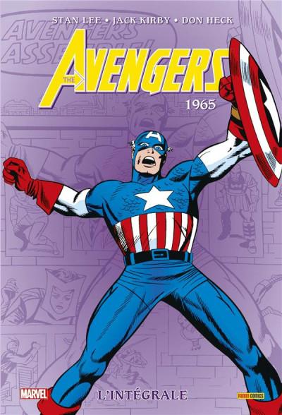 Couverture Avengers - intégrale tome 2