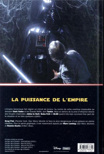 Dos Star wars - L'ère de la rébellion - Les vilains