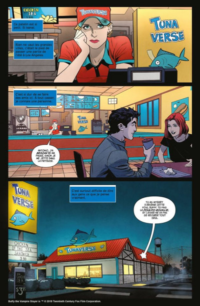 Page 1 Buffy contre les vampires tome 1