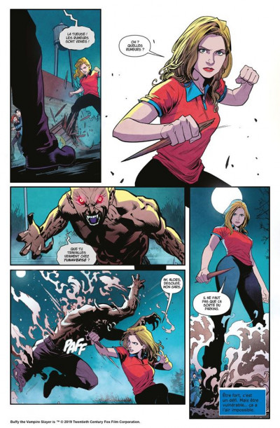 Page 3 Buffy contre les vampires tome 1
