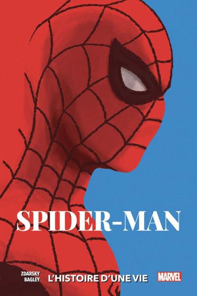 Couverture Spider-man - L'histoire d'une vie