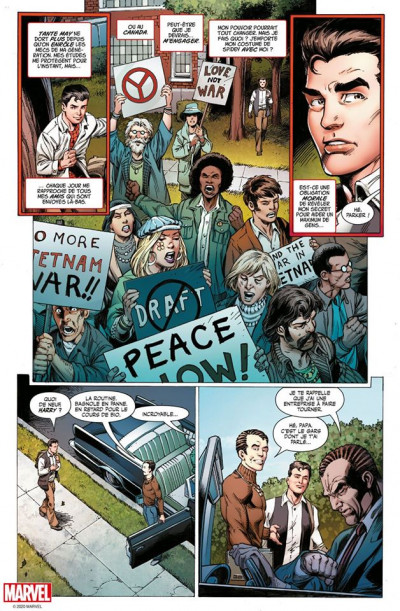 Page 3 Spider-man - L'histoire d'une vie