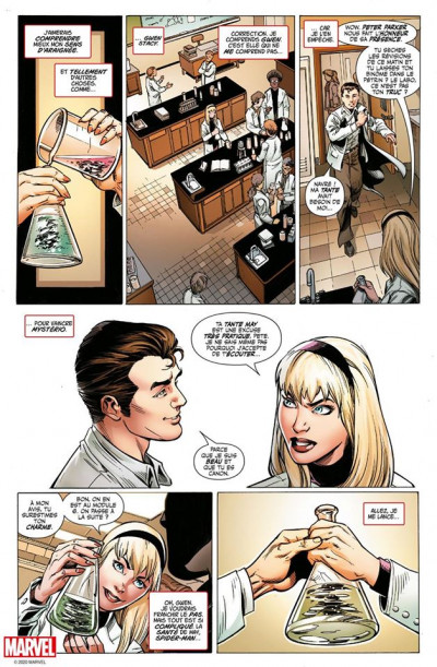 Page 5 Spider-man - L'histoire d'une vie