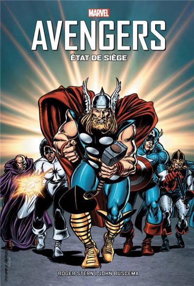 Couverture Avengers - État de siège