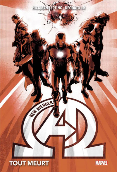 Couverture New avengers tome 1