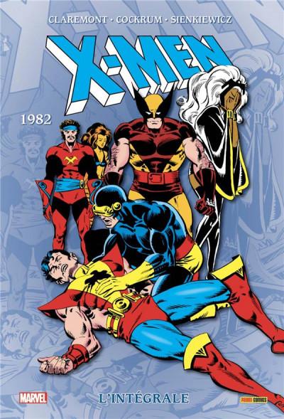 Couverture X-Men - intégrale tome 6