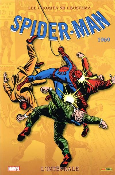 Couverture Spider-man - intégrale tome 7