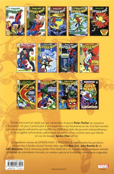 Dos Spider-man - intégrale tome 7