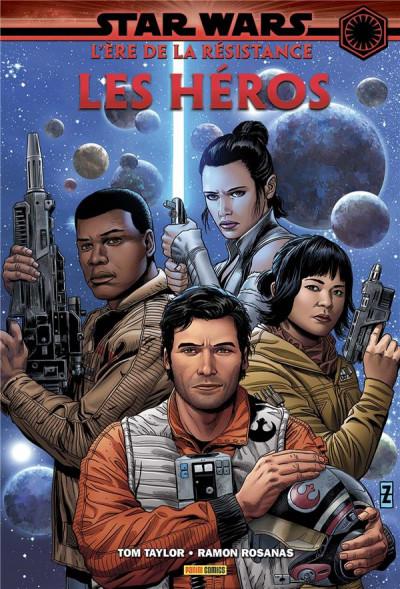 Couverture Star wars - L'ère de la résistance - les héros