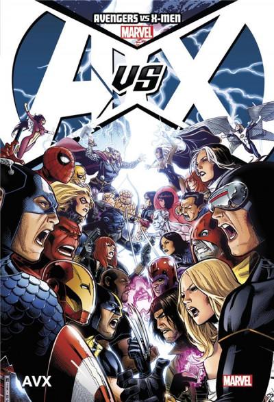 Couverture Avengers vs X-men (deluxe) tome 1