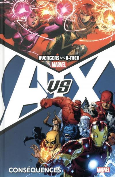 Couverture Avengers vs X-men (deluxe) tome 2