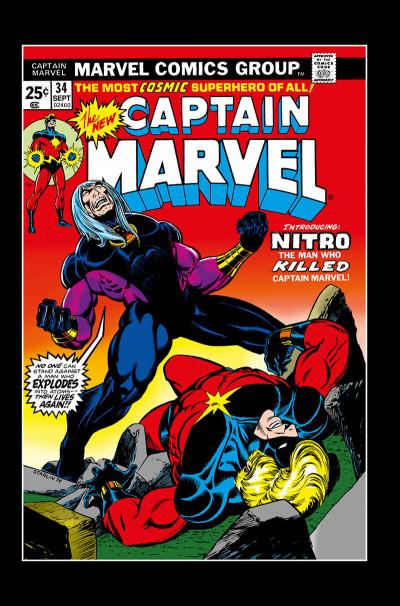 Page 6 La mort de Captain Marvel