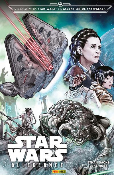 Couverture Star wars - L'ascension de skywalker : Allégeance